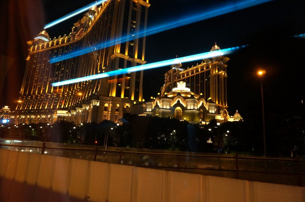Galaxy Casino at night_Macau