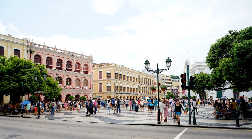 Senado Square Old Macau