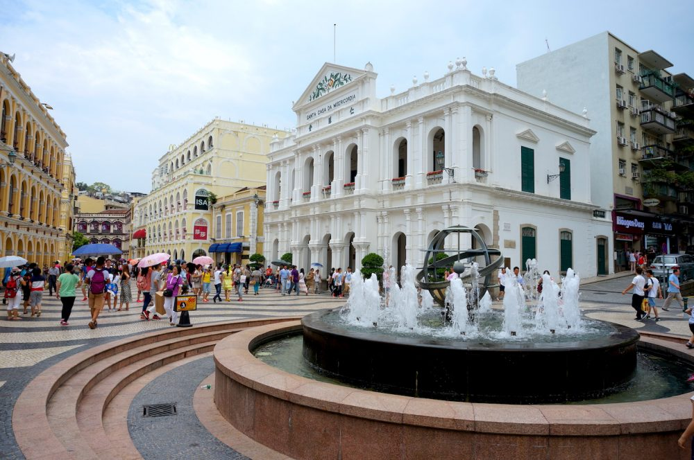 The Fountain at Senado Square_Macau