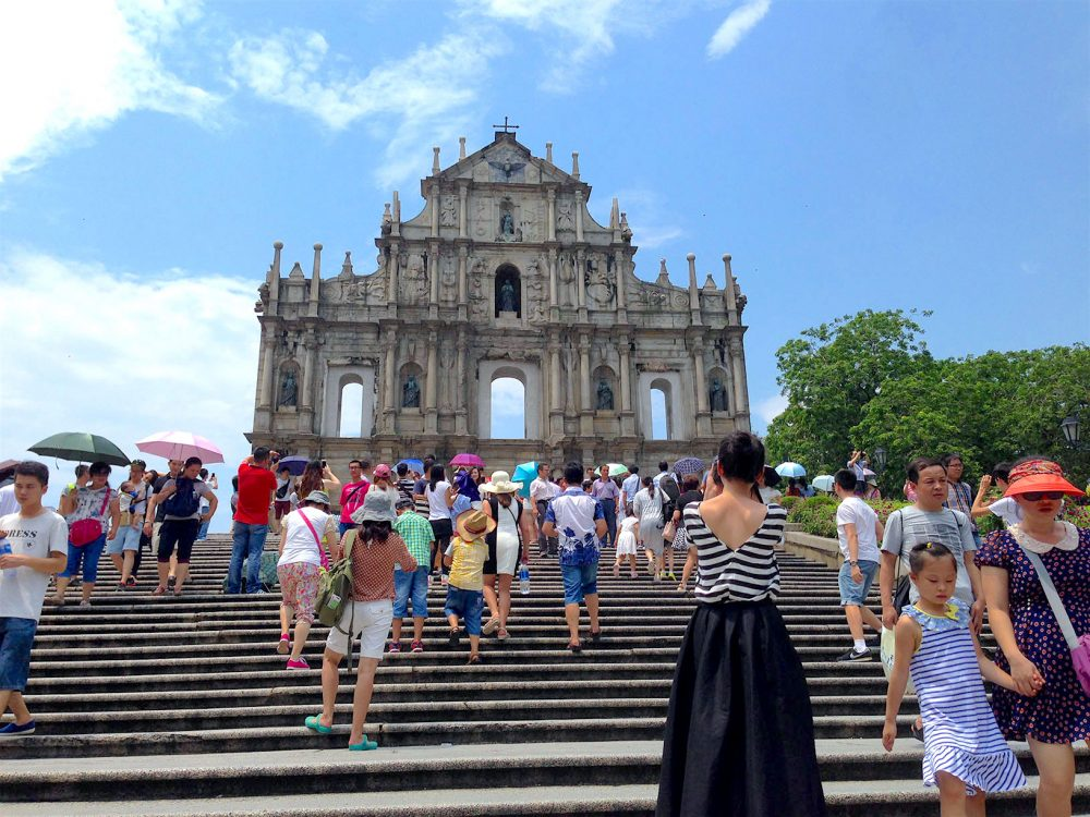 Ruins of St. Paul's_Macau