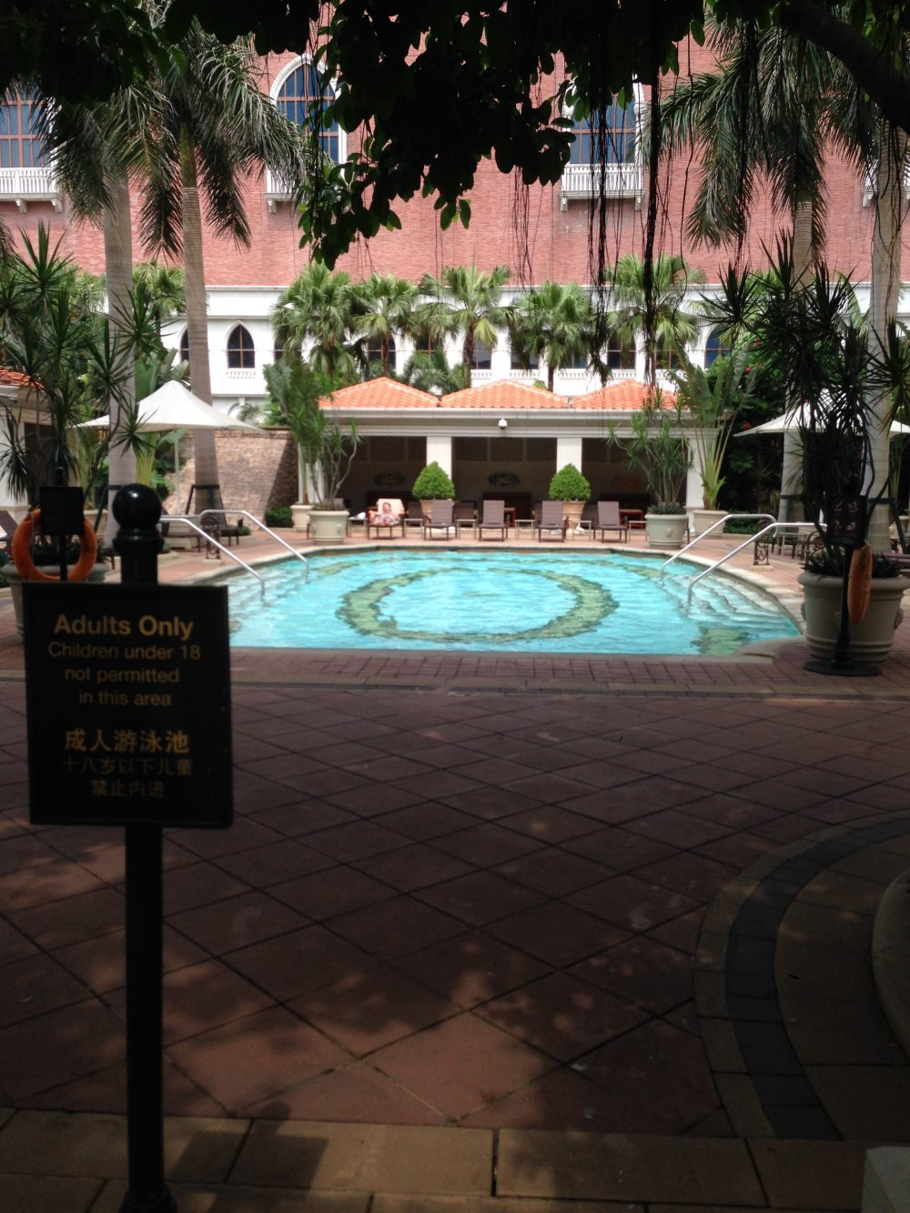 The Venetian Pool Macau