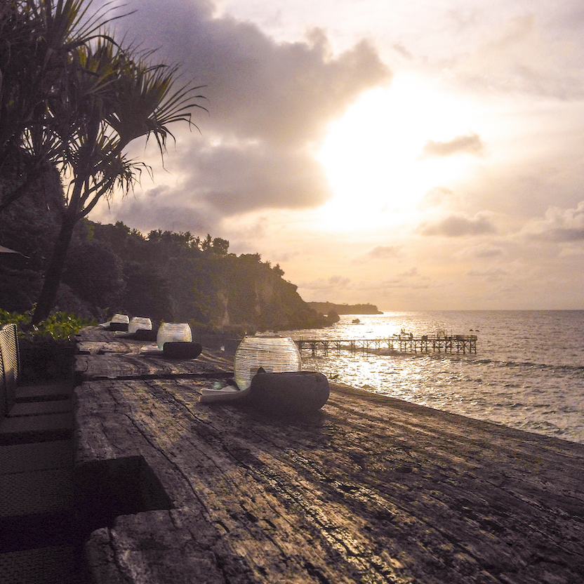 Best Sunset at Rock Bar Ayana Bali