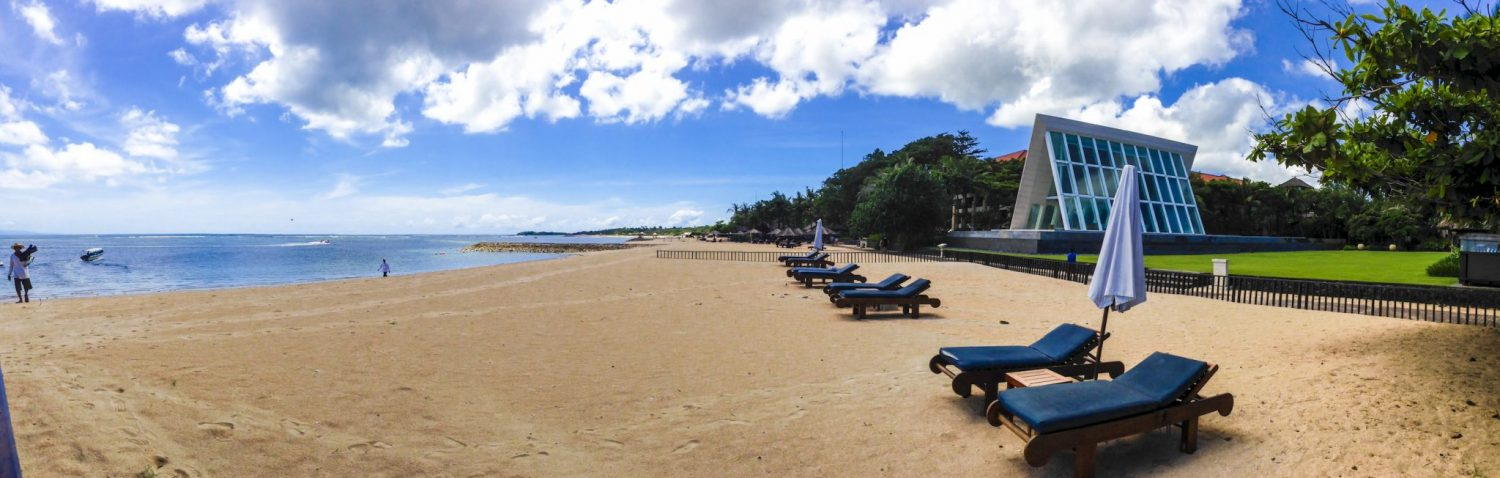 Beach at Conrad Bali