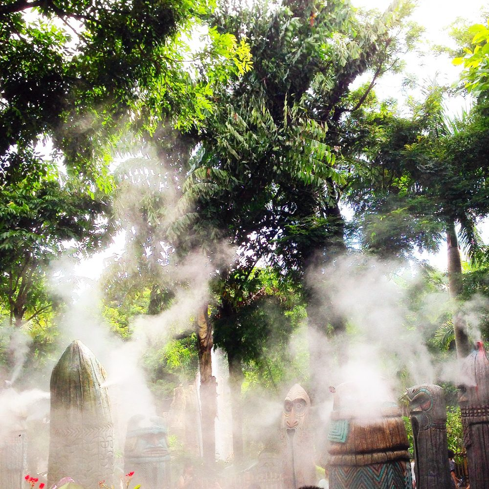 Aztec Style Jungle Mist - Disneyland
