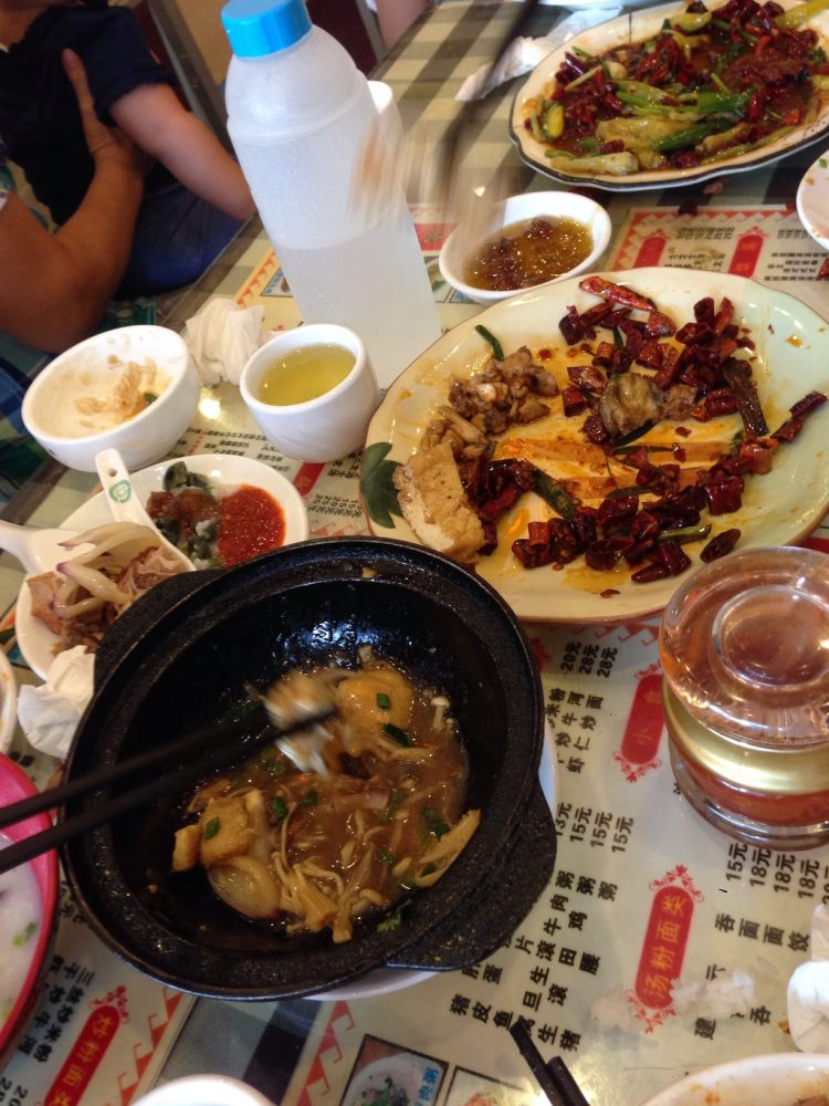 Lunch in Shenzhen