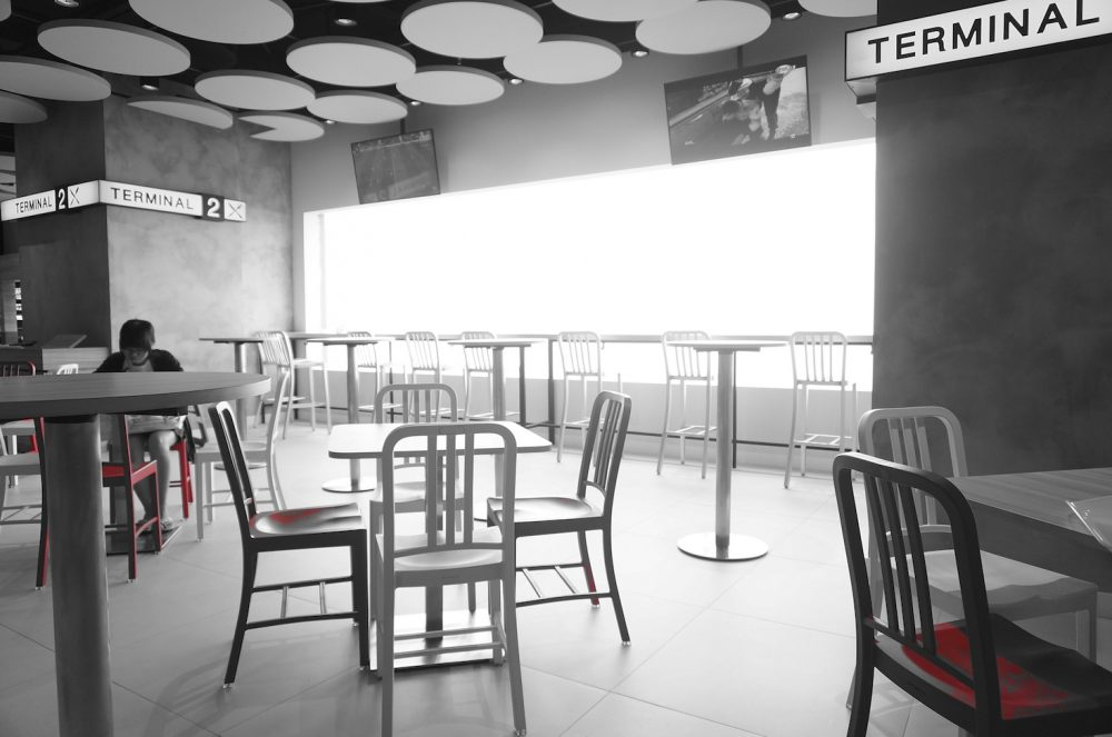 Terminal 2 Cafe Interior Design