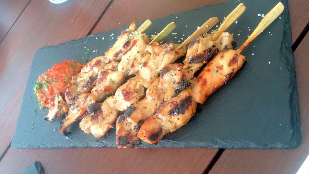 Chicken Satay El Kabron menu