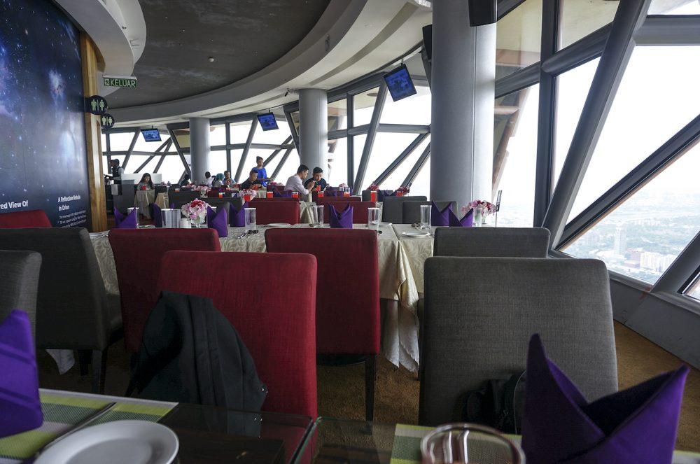 Lunch buffet at Atmosphere 360 KL Tower