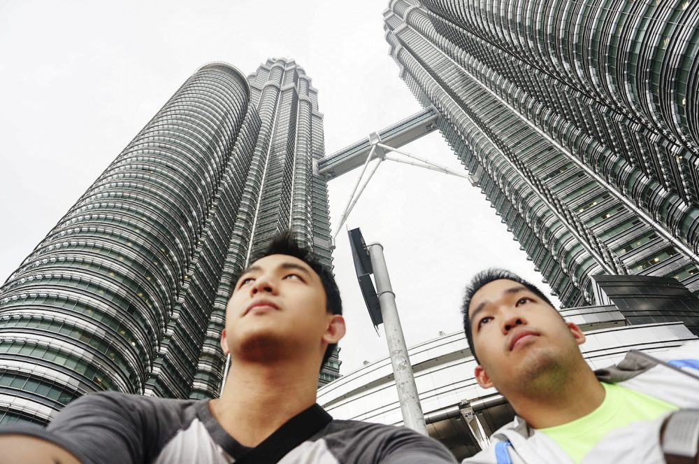 Wefie at Petronas Twin Tower