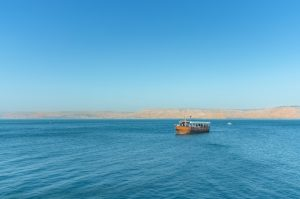 Surreal Experience On The Sea Of Galilee