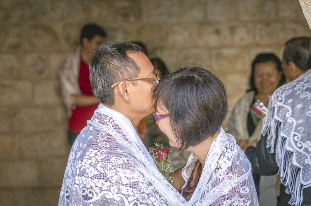 Wedding Vow Renewal at Wedding Church Cana Israel