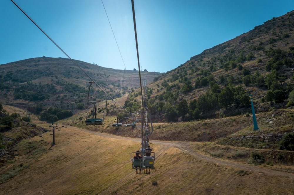 Mount Hermon Cable Lift