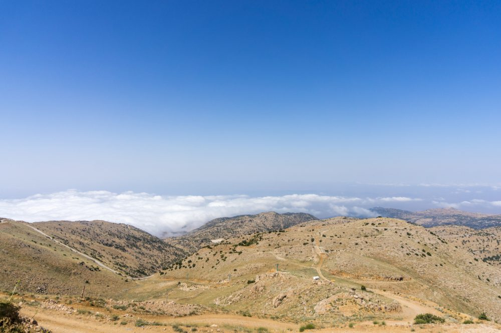 Mount Hermon Panorama View