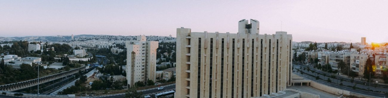 Panorama Sunset from Ramada Jerusalem
