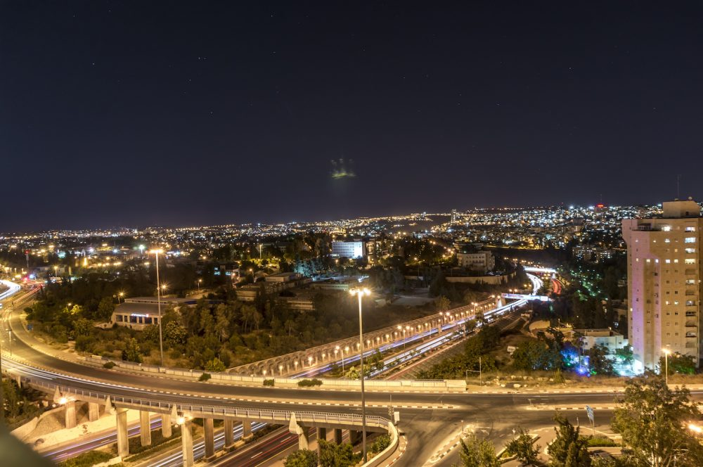 Jerusalem City at Night