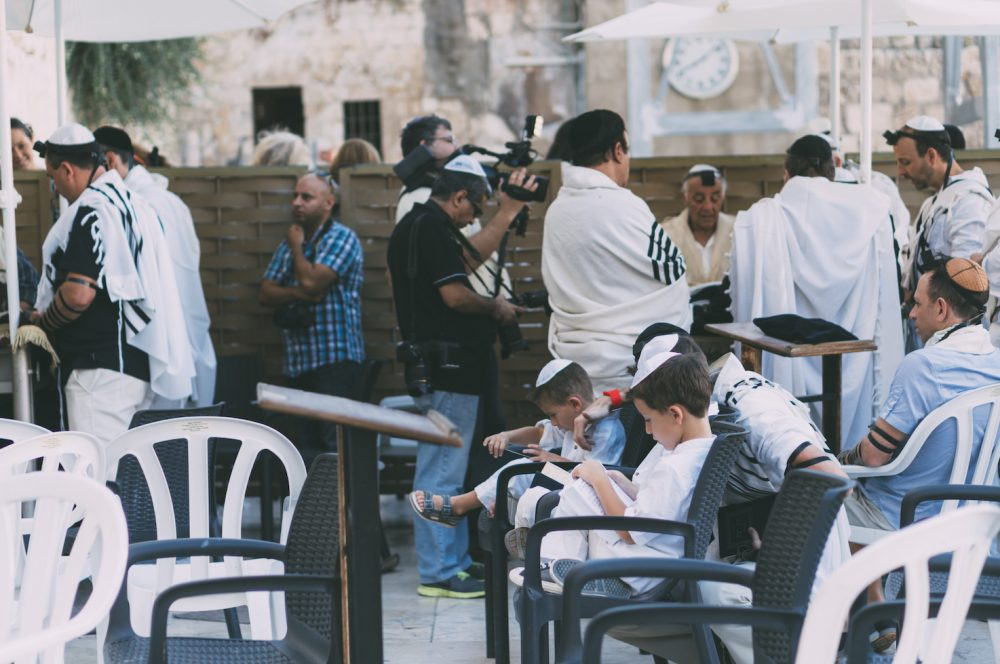 Bar Mitzvah at Western Wall
