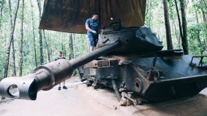 Crawling Through Cu Chi Tunnels