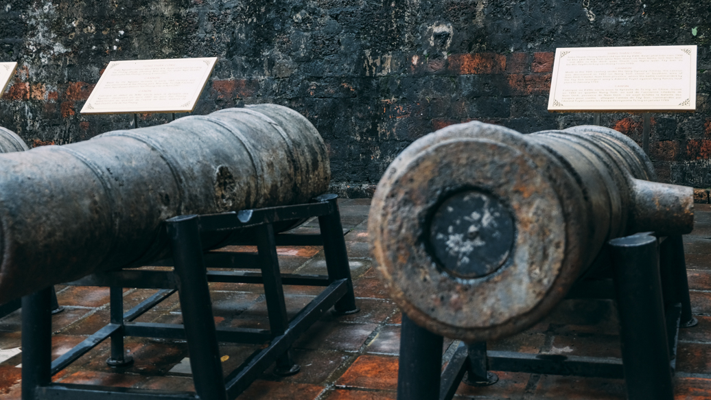 A Rustic Canon at Vietnam Military History Museum