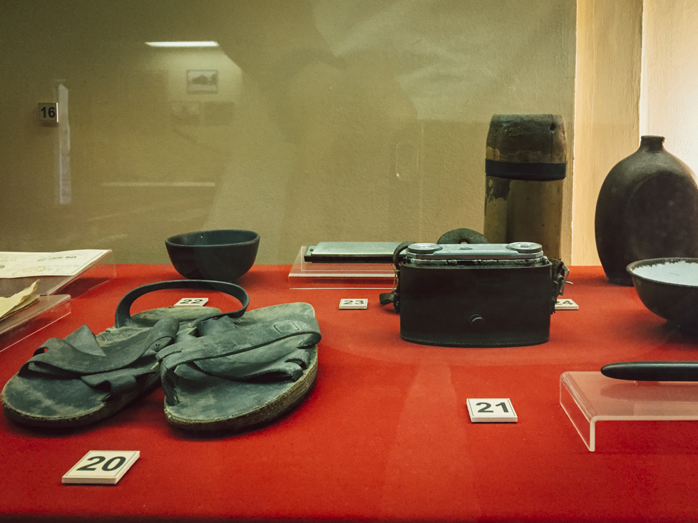 Display Items from Vietnam War