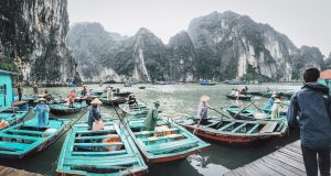 The Misty Dreamy Ha Long Bay : North Vietnam's Treasure