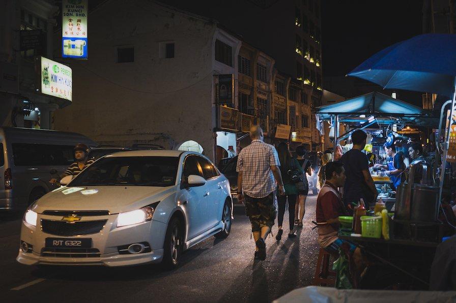 Hawker Street Food Chulia Street