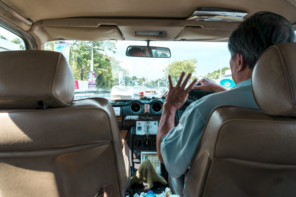 Malacca Taxi Driver Uncle