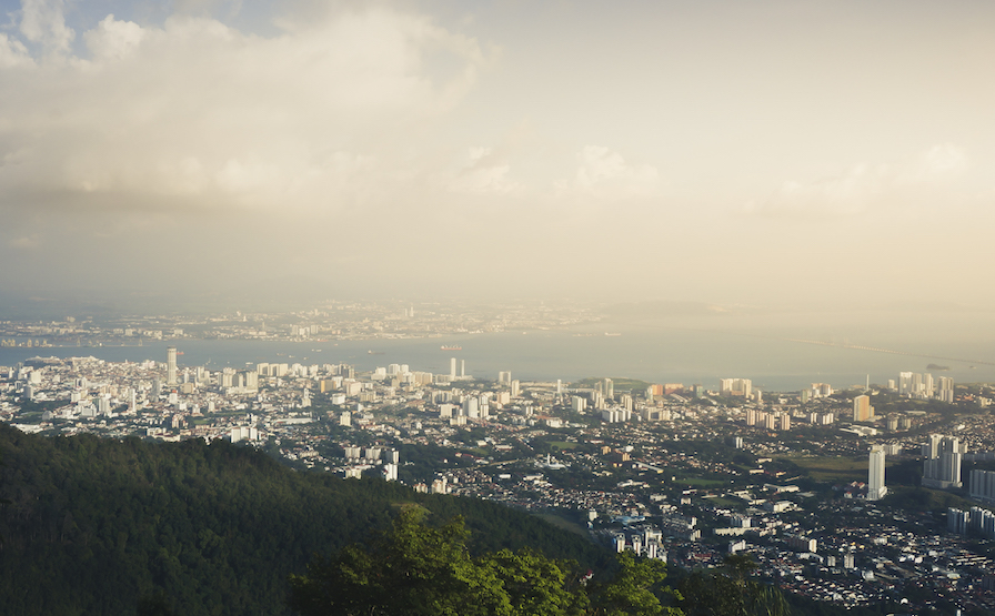 Penang Hill Panorama View