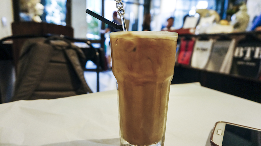 China House Ice Latte
