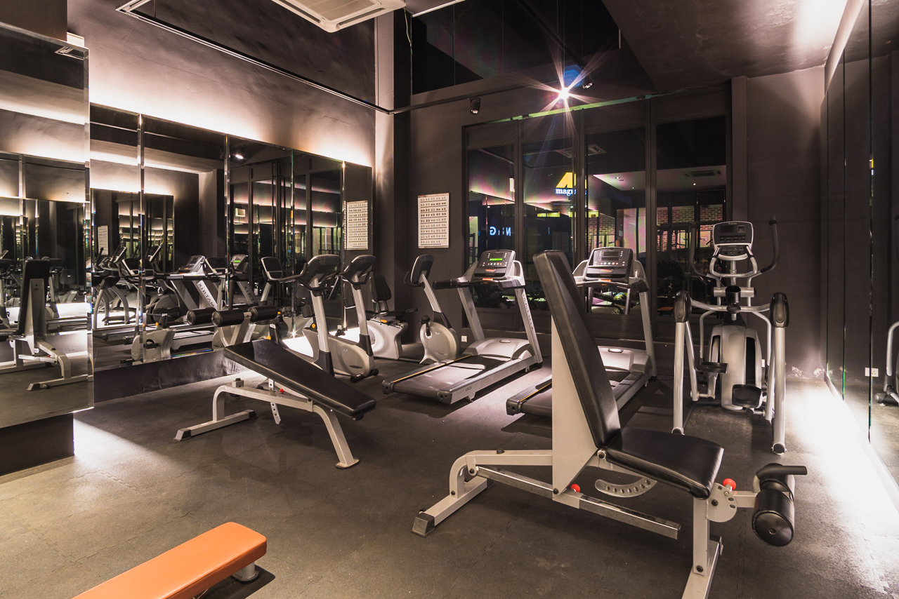 M Boutique Hotel Gym 24 hour