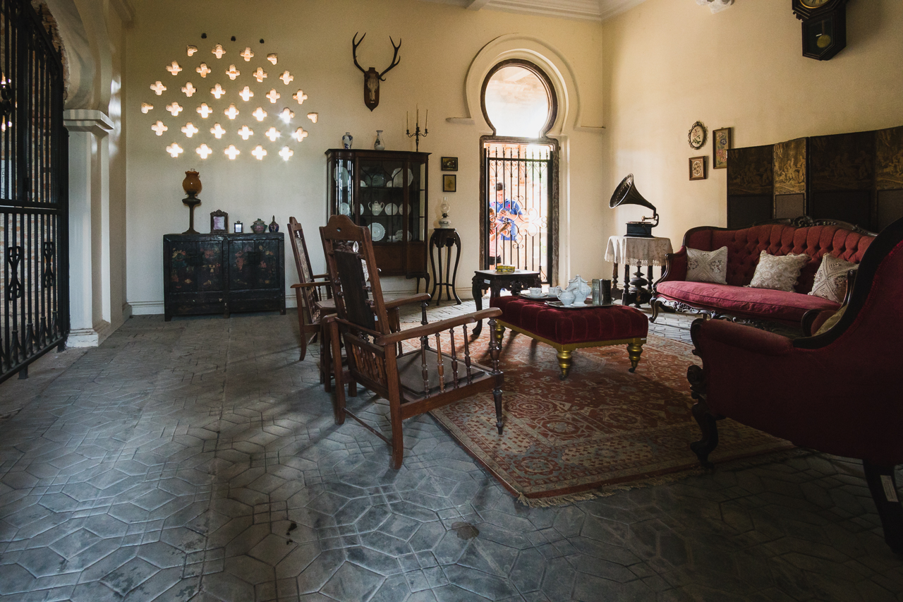 Kellie's Castle Living Room