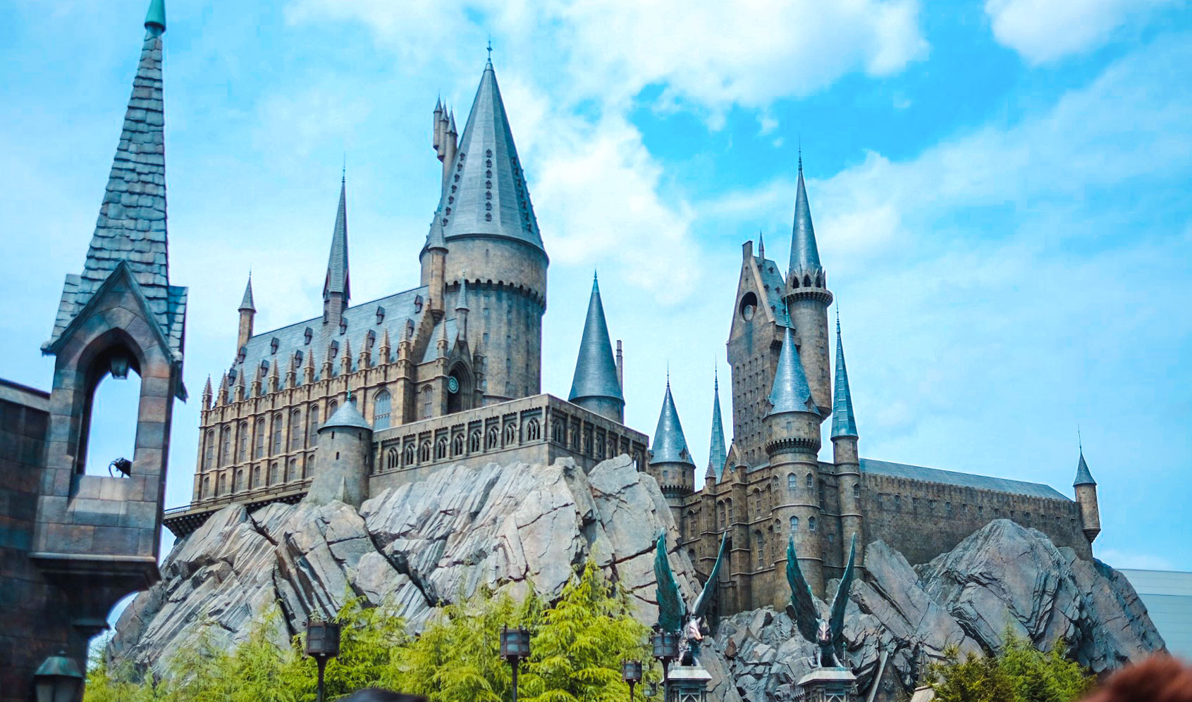 Hogwarts Castle at Universal Studio Japan